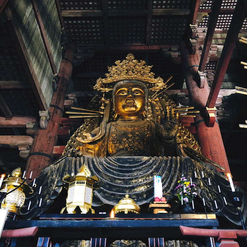 Another Buddha statue inside.