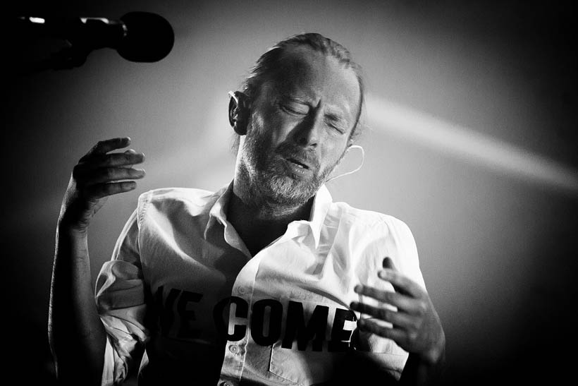 Atoms For Peace live at the Lotto Arena in Antwerp, Belgium on 9 July 2013
