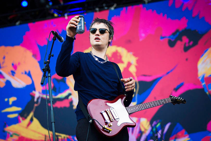 Babyshambles live at Rock Werchter Festival in Belgium on 6 July 2014