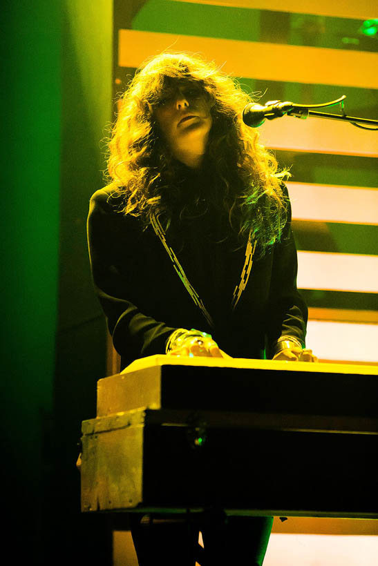 Beach House live at the Ancienne Belgique in Brussels, Belgium on 18 November 2012