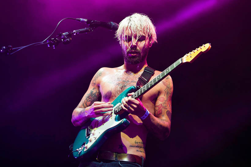 Biffy Clyro live at Rock Werchter Festival in Belgium on 4 July 2013