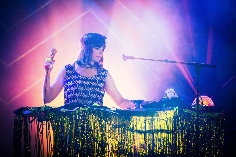 DJ Flugvel Og Geimskip live at Les Nuits Botanique in Brussels, Belgium on 11 May 2015