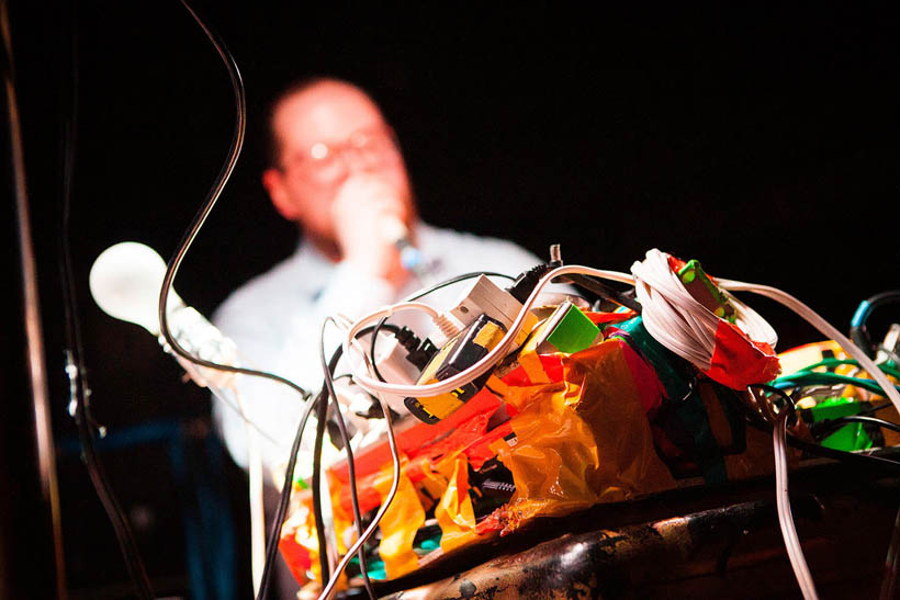 Dan Deacon live at Les Nuits Botanique in Brussels, Belgium on 6 May 2013
