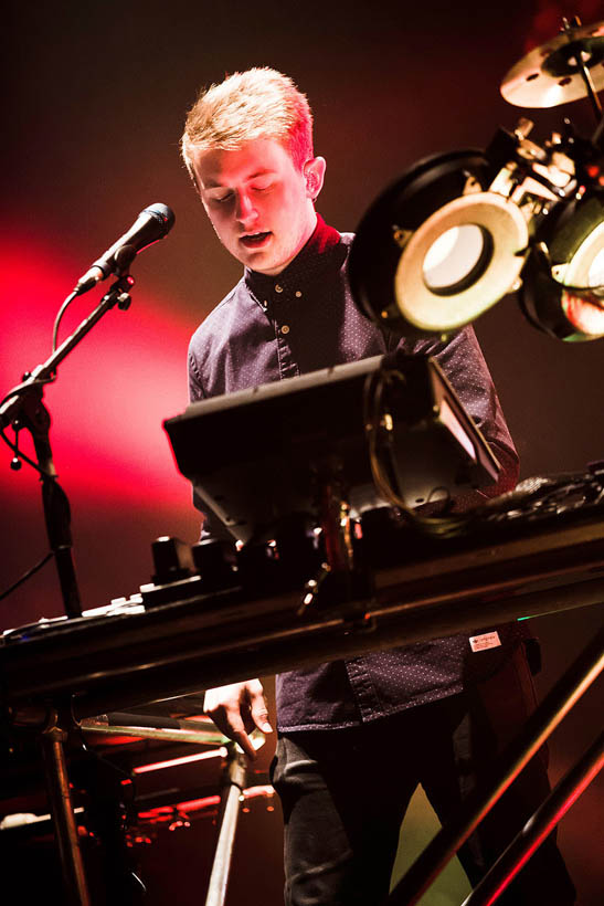 Disclosure live at the Ancienne Belgique in Brussels, Belgium on 10 March 2014