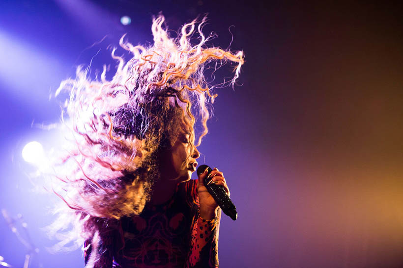 Ella Eyre live at Les Nuits Botanique in Brussels, Belgium on 22 May 2014