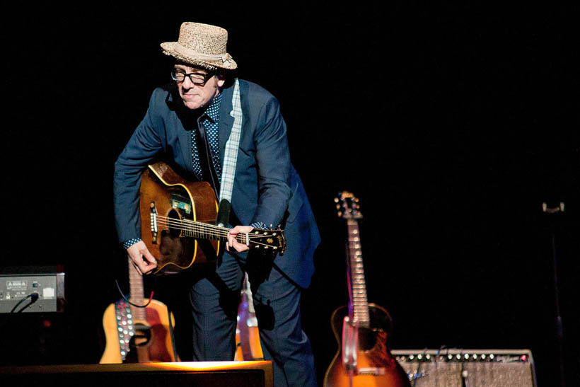 Elvis Costello live at Cirque Royal in Brussels, Belgium on 31 May 2012