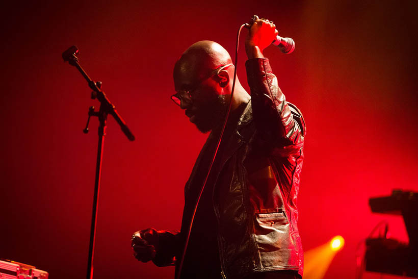 Ghostpoet live at Les Nuits Botanique in Brussels, Belgium on 9 May 2015