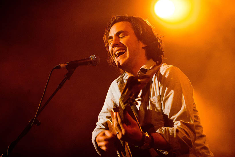 Jack Savoretti live at the Orangerie at the Botanique in Brussels, Belgium on 3 March 2013