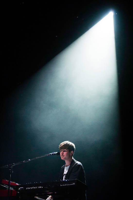 James Blake live at Rock Werchter Festival in Belgium on 6 July 2013