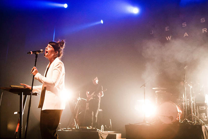 Jessie Ware live at the Ancienne Belgique in Brussels, Belgium on 30 March 2013