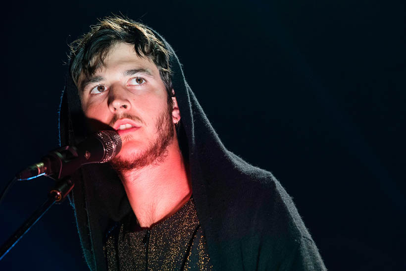 Oscar & The Wolf live at the Ancienne Belgique in Brussels, Belgium on 8 May 2014