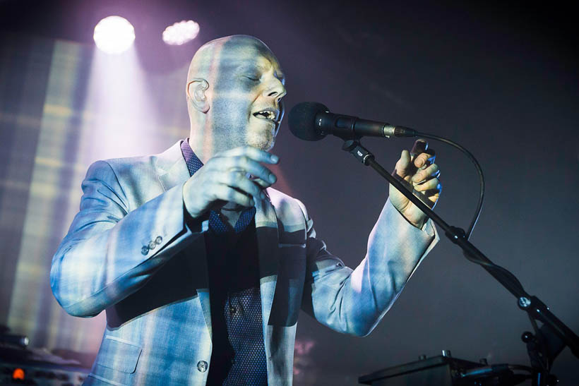 Philip Selway live at the ABClub in the Ancienne Belgique in Brussels, Belgium on 7 February 2015