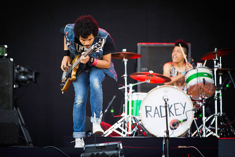 Radkey live at Rock Werchter Festival in Belgium on 3 July 2014.