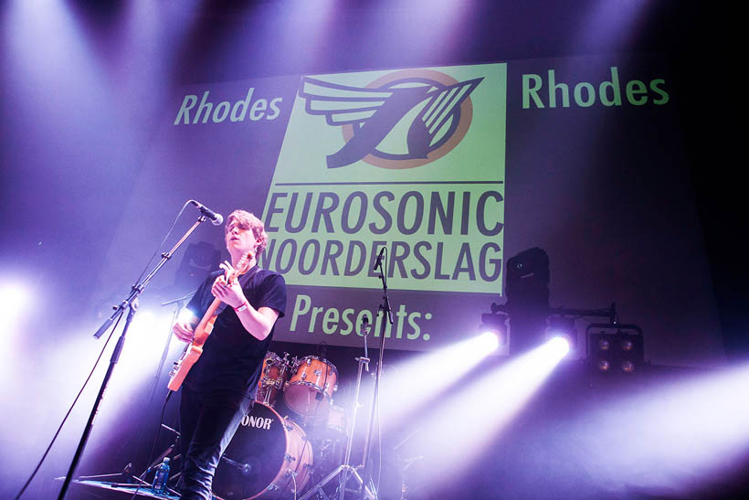 Rhodes live at Eurosonic Noorderslag in Groningen, The Netherlands on 16 January 2014