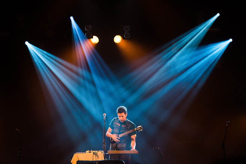Teme Tan live at Les Nuits Botanique in Brussels, Belgium on 14 May 2015