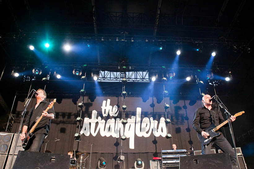 The Stranglers live at Brussels Summer Festival in Belgium on 12 August 2012