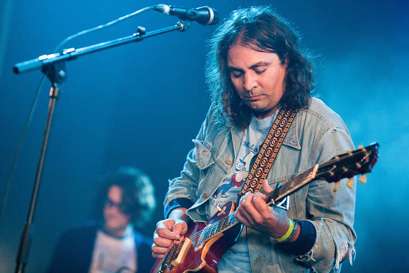 The War On Drugs live at Dour Festival in Belgium on 14 July 2012