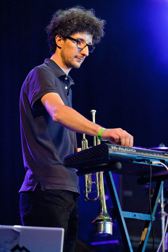 VO & Box Quartet live at Dour Festival in Belgium on 13 July 2012