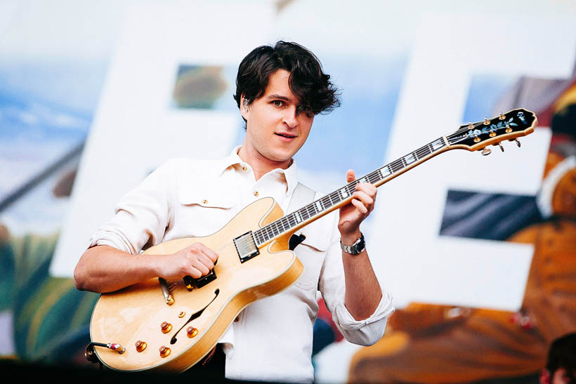 Vampire Weekend live at Rock Werchter Festival in Belgium on 4 July 2013