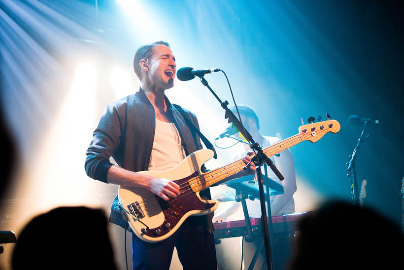 Wild Beasts live at Eurosonic Noorderslag in Groningen, The Netherlands on 16 January 2014