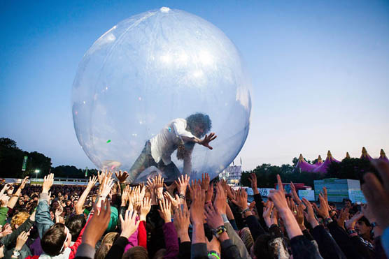 The Flaming Lips at Dour Festival