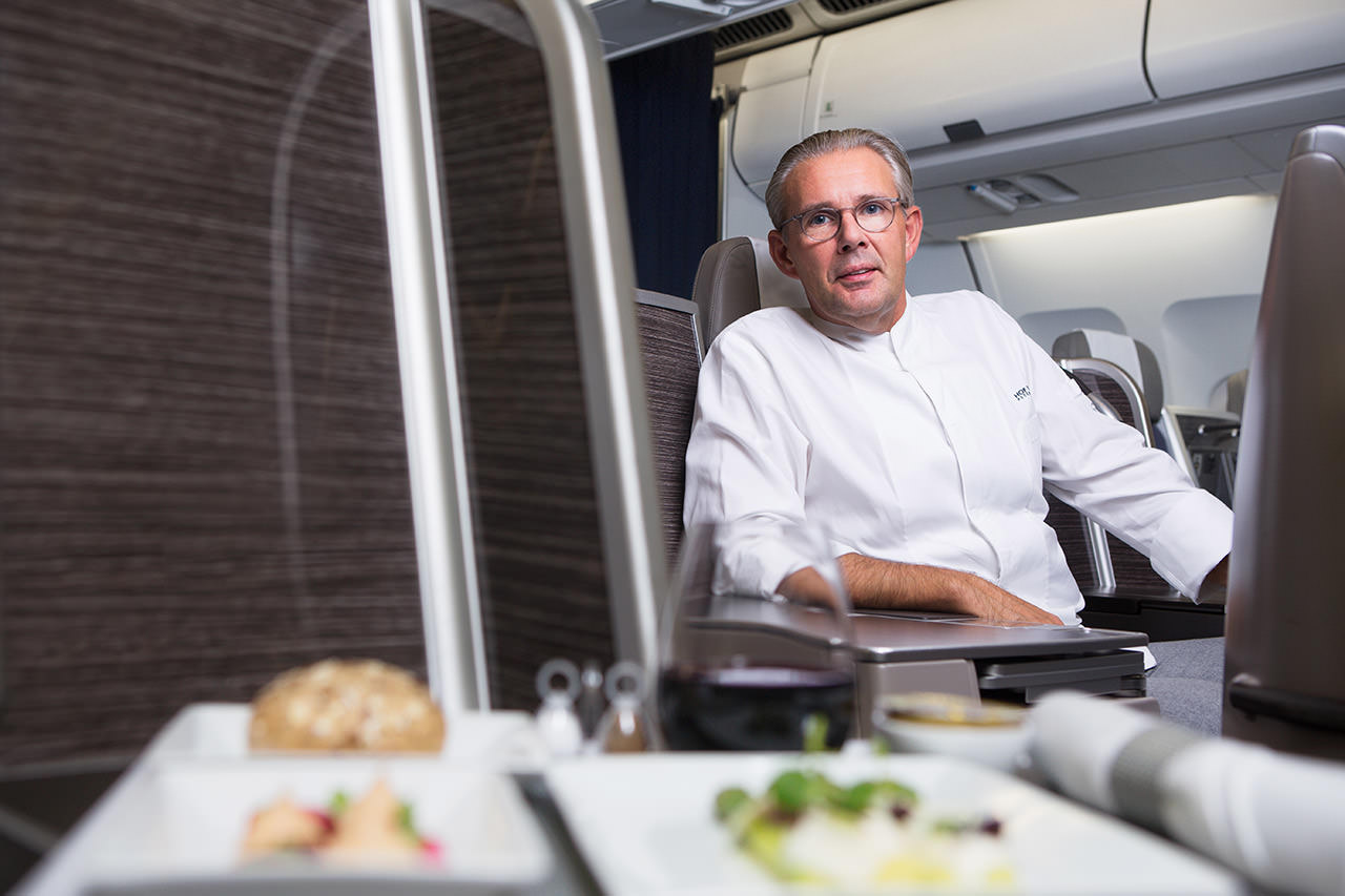 Portrait of Peter Goossens for Brussels Airlines