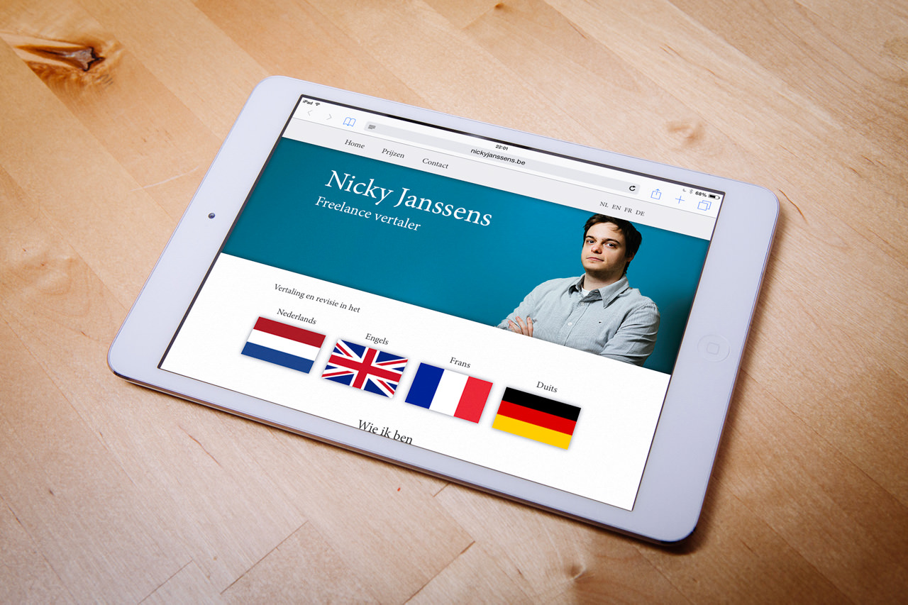 Website Nicky Janssens