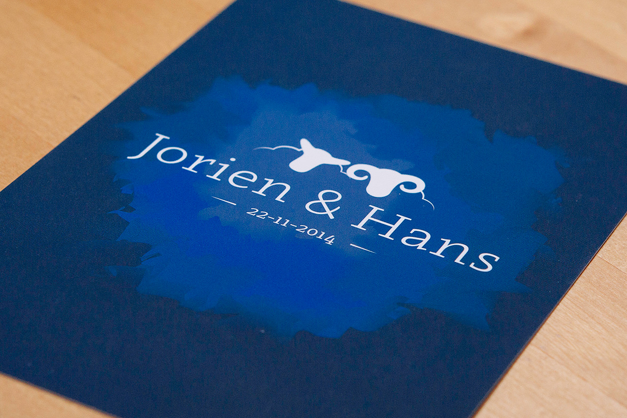Jorien & Hans (wedding invitation)