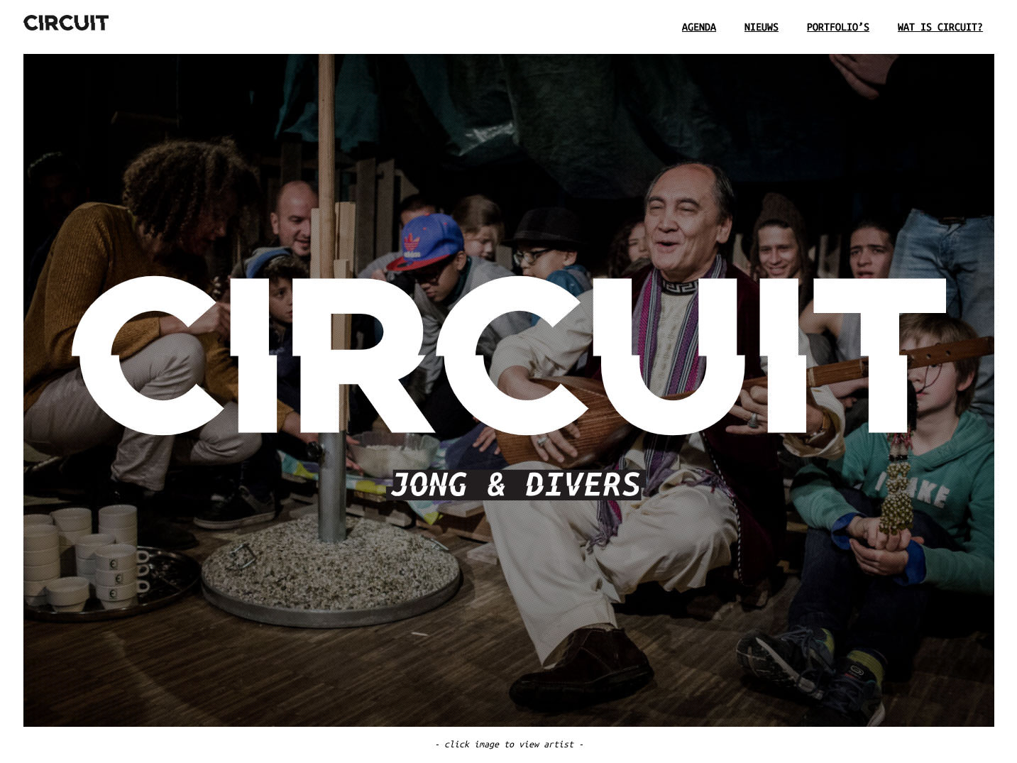 Homepage of Circuit.