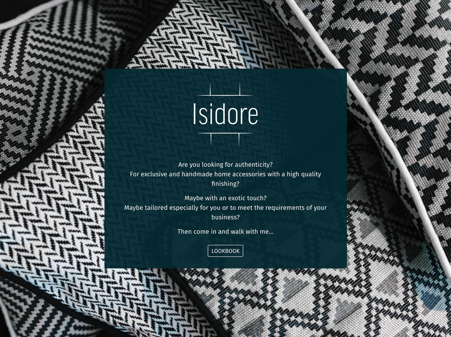 Isidore (corporate identity & development of website)